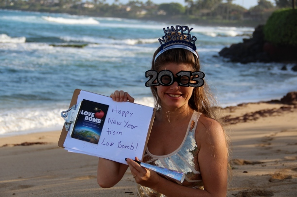 Happy New Year from Dr.Rhea, and Love Bomb!