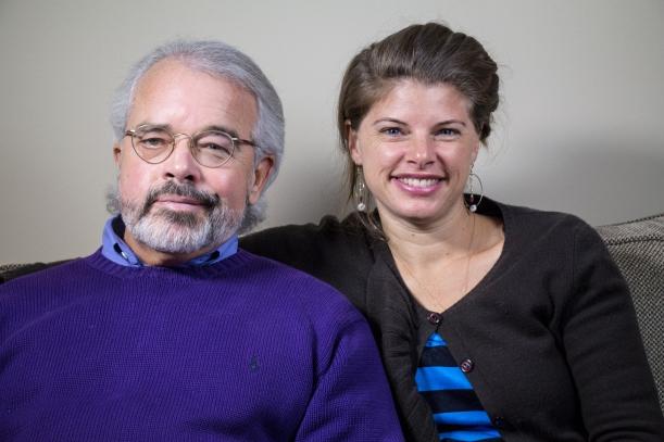 John Welshons & Dr. Rhea at a Love Bomb Interview